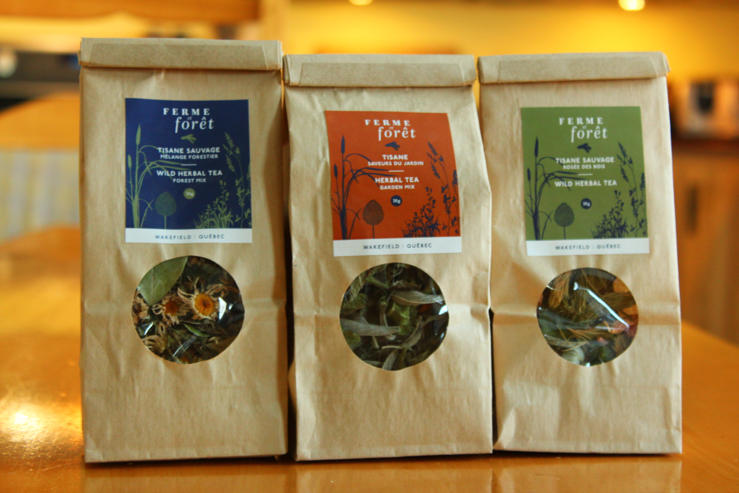 Wild Herbal Teas | Ferme et Forêt